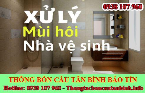 Chống Hôi Nhà Vệ Sinh Quận Tân Bình Nhanh Chóng Sau 5'