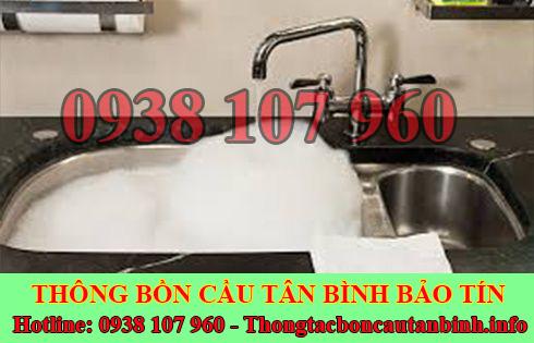Thông bồn rửa chén bát trào ngược Quận Tân Bình 0326481432