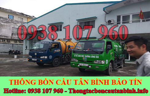 Hút bồn cầu Quận Tân Bình giá rẻ 0938107960 bảo hành 5 năm