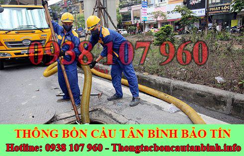 Nạo vét hố ga cống rãnh Quận Tân Bình chuyên nghiệp uy tín.