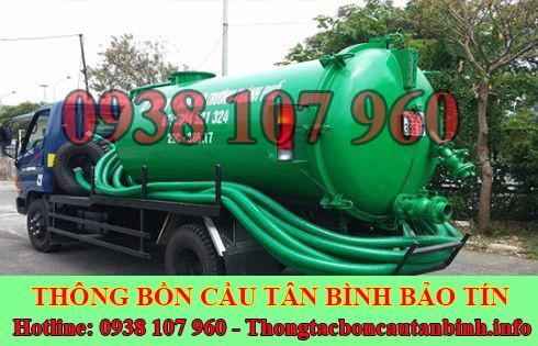 Số điện thoại hút hầm cầu Quận Tân Bình giá rẻ 0938107960