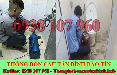Số điện thoại thông bồn cầu Quận Tân Bình giá rẻ 0938107960