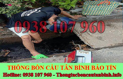 Sửa cống nghẹt Quận Tân Bình giá rẻ 0938107960 BH 5năm