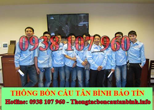 Nhân viên công ty thông bồn cầu Quận Tân Bình Bảo Tín